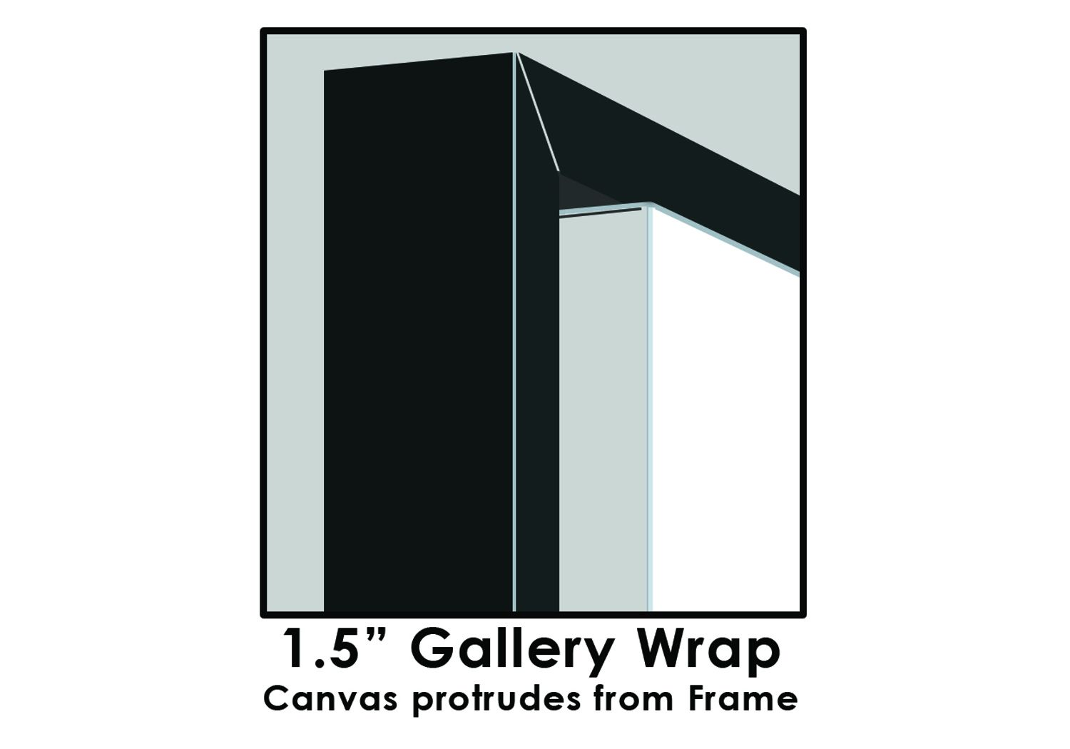 Floating Framed Canvas | Gallery Wrap
