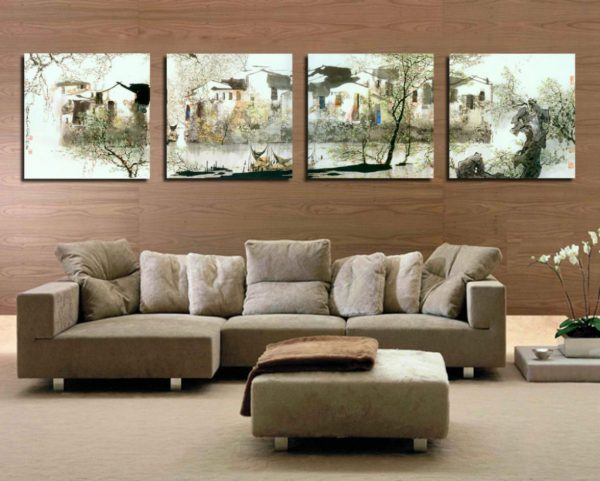 home decor canvas paintings in living room